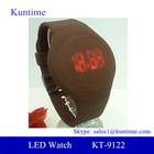 wholesale replica watches double ring led touch watch for unisex