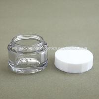 PETG Plastic 50ML Jar Container Cosmetic