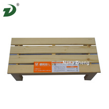 Factory price cheap small wooden stool,wooden step stool chair for sale