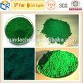 Compuesto de verde óxido de hierro pigmentos/colorante/de pintura
