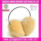 women's winter Earmuffs &warmer headband cute yellow Ear Muffs