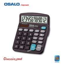 OS-837 desktop cheap solar powered calculator