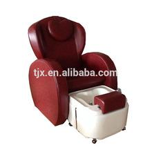 Portable spa basin foot massage chair