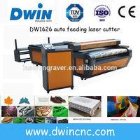 DW1626/DW1640 factory price auto feed laser cutting machine
