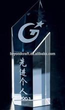 fashion k9 optical crystal trophy for employee award