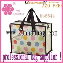 travel nylon dots shopping bags