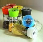 hot selling glass grinder/glass spice bottle
