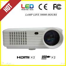 2014 NEW design , with hdmi , usb, av, vga, led projector 1920x1080