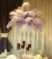White plumes for carnival decoration