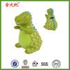 Resin green Dinosaur wedding gift tin money bank for kid