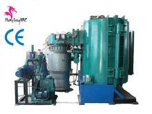 vacuum evaporation metallizing plastic parts chroming finishing machine