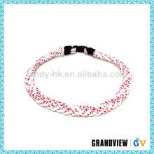Useful 4 rope high quality germanium cheap price titanium power energy sport necklace