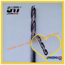High precision 3 flute HRC45 tungsten carbide wood square drill bit