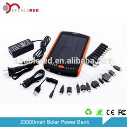 Shenzhen 23000mah solar emergency power charger for laptop