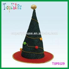 Yiwu Factory Direct Sale Custom Chrismas Party Flashing Christmas Hat