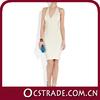 2014 amazing short halter white knee length cocktail dresses