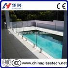 CE/CCC Building Decoration 10mm Temperd Glass Fence Panels