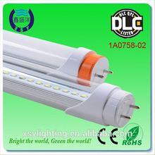 15w to 22w commercial led light tube cUL DLC milk white 1.2m tube8 led light tube
