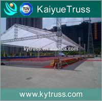 aluminum lighting truss beautiful outdoor exhibition stands