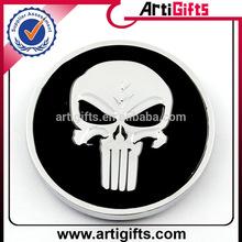 Customized logo metal round car emblems