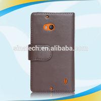 Newest design desktop pu leather cover for Nokia lumia 930
