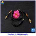sintetico nero agata gioielli perline per abiti da sposa in vendita online