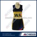 de impresión de la muchacha skirt uniforme personalizado vestido baloncesto