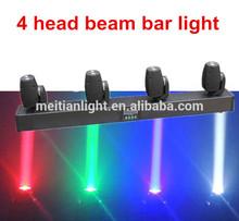 4 heads CREE quad led beam moving head light / 4 head moving head beam quad in 1 / led moving head lights 10w