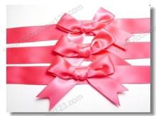 self adhesive polyester make ribbon rosette