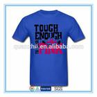 Custom design t shirt screen printing for men wholesale
