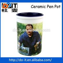 clear gloss pen pot,pot brush