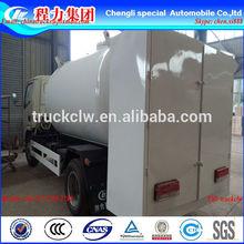 4x2 LPG Filling Truck 1.77MPa high pressure Liquified Petroleum Gas Tank 5000Lts