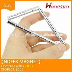 Strong disc shape neodymium monopole permanent magnets cheap N35 Ni D2x22.8mm
