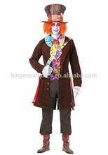 Adult alice in Wonderland sexy men costume Halloween Costume