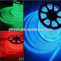 110V 220V High Voltage 60LEDs/Meter waterproof 240 volt led rgb luz flexible tira de cinta