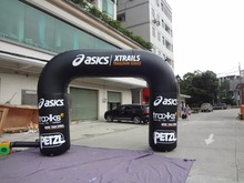 Customized sponsored inflatable arches for brands advertising