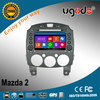 2 din touch screen car multimedia player for Mazda 2 with DVD GPS navigation radio bluetooth SD USB IPOD, new win8 UI