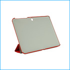 10.1 inch tablet PU leather kids case for samsung galaxy tab 4-Red