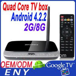 On sale tv box wifi 2G RAM 8G ROM c918 tv box android rk3188 quad core
