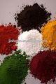Pigmento in polvere di ferro sintetici rosso/giallo/nero/arancione/marrone/verde/blu per calcestruzzo/cemento/pavimentazione in mattoni/marciapiede/pavimentazione in pietra