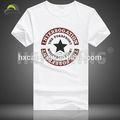 Marca baratos algodão plain white t- camisas