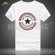 Branded cotton cheap plain white t-shirts