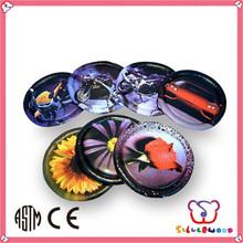 GSV SEDEX Factory colorful printed promotional logo printing ultimate frisbee discs