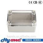 HB04M NEW ABS MATERIAL JUNCTION BOX WATERPROOF PLASTIC ENCLOSURE
