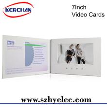 "7""lcd digital handmade greeting cards friends"