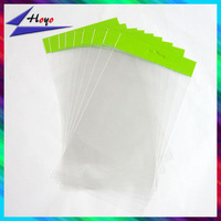 custom opp plastic packing bags self closing for jewelry packing
