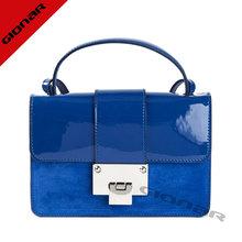 señora de alta calidad bolsa de hombro de la patente de la moda bolso de cuero para dama ac2445