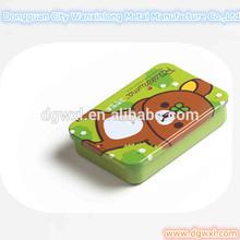 Small candy tin box