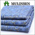 mulinsen textil tradicional patrón impreso de alta calidad satén del spandex tela de algodón sanforizados