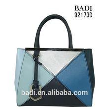 badi tote pu leather handbags direct sales fashionable handbag trade shows